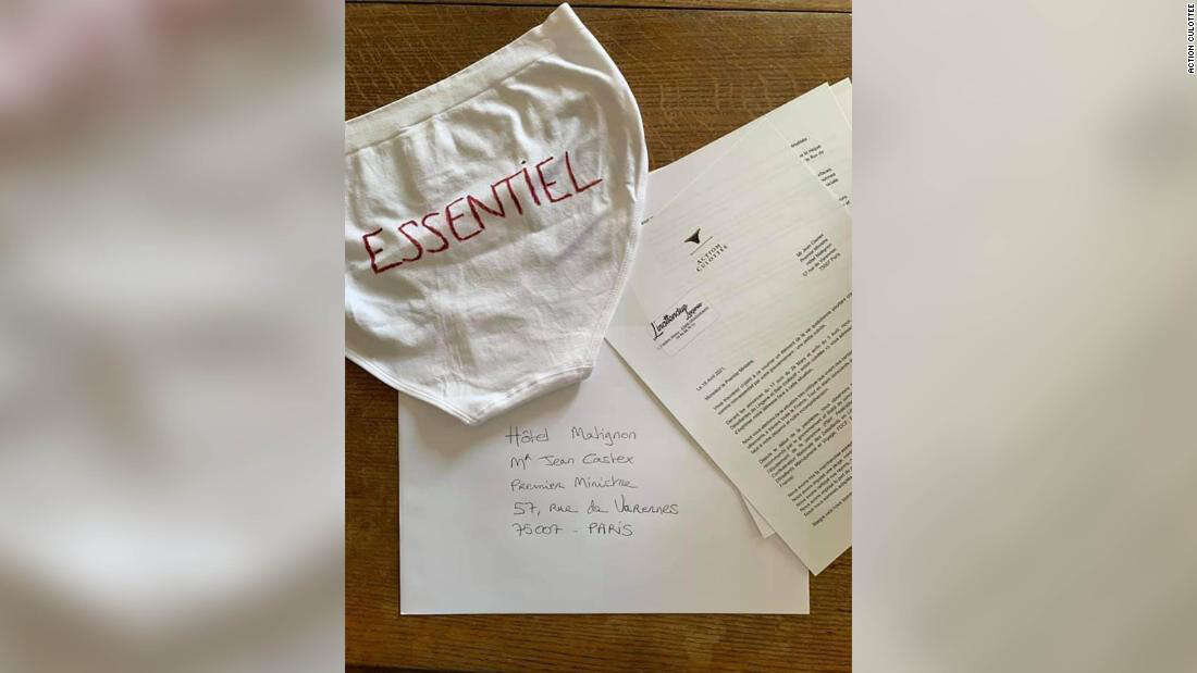 French Prime Minister Receives Underwear in Mail Protest