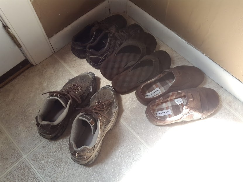 ALL THE BROWN SHOES