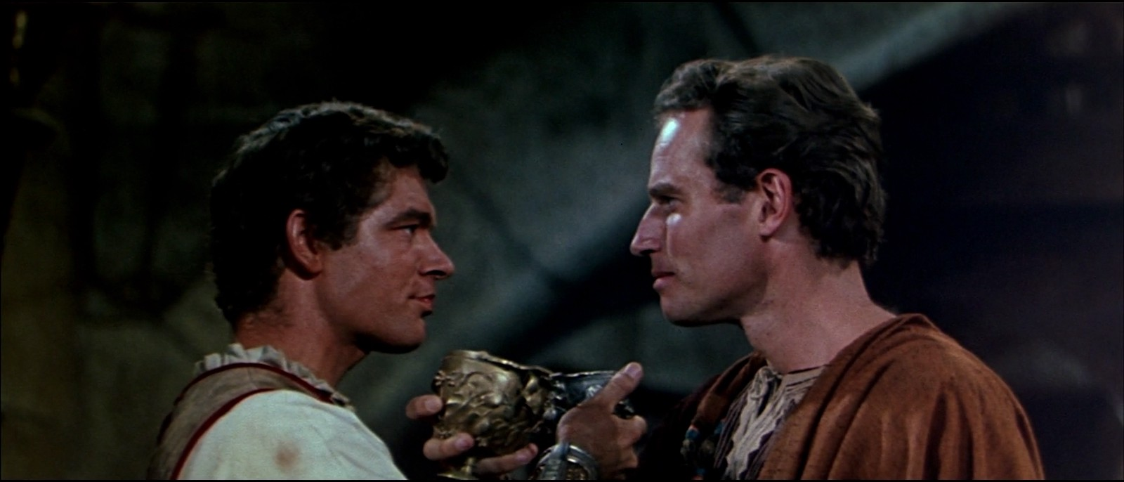 Stephen Boyd and Charlton Heston in 'Ben Hur,' as seen in 'The Celluloid Closet'