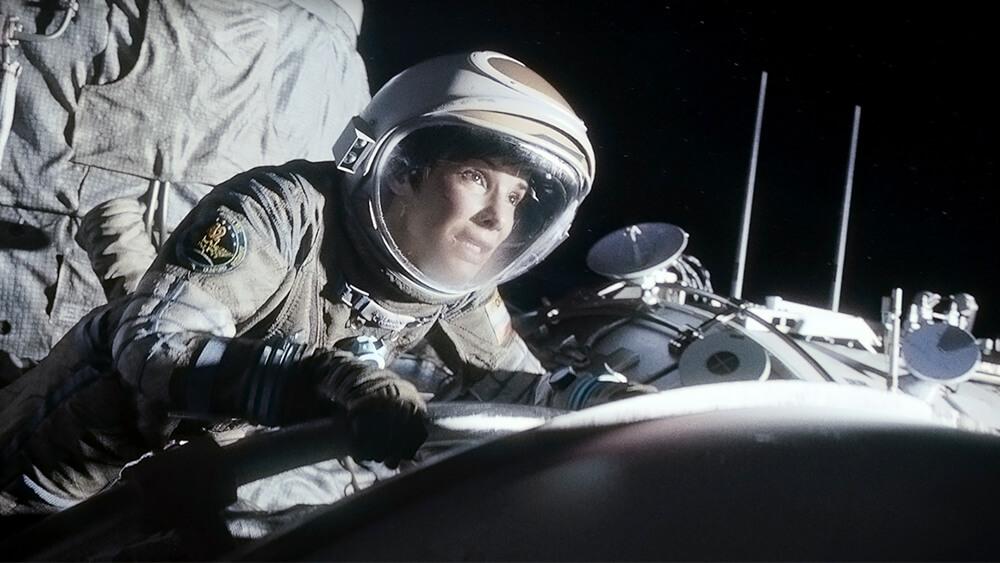 Sandra Bullock, as seen in 'Gravity'.