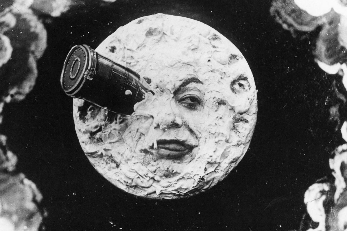 A scene from A Trip to the Moon (1902). (BFI)