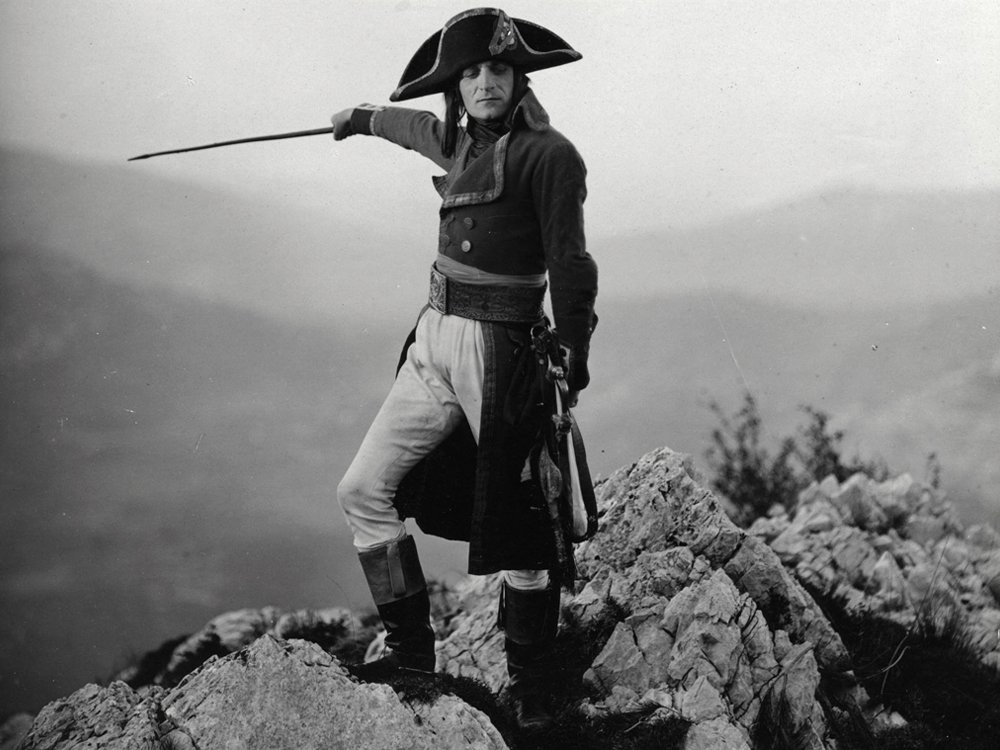 """From Abel Gance's """"Napolean"""" (1902)."""