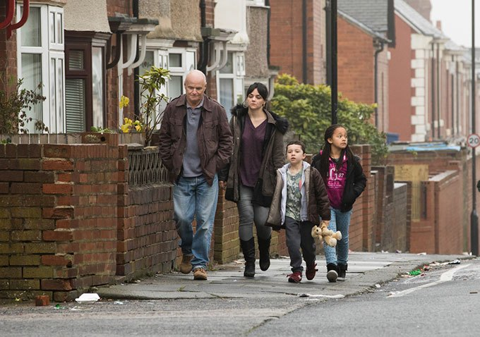 Dave Johns and Haley Squires in  I, Daniel Blake.