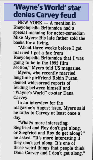 News from the Ocala Star-Banner, July1993.