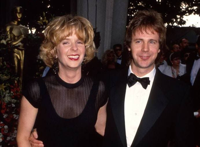 Carvey and wife Paula.