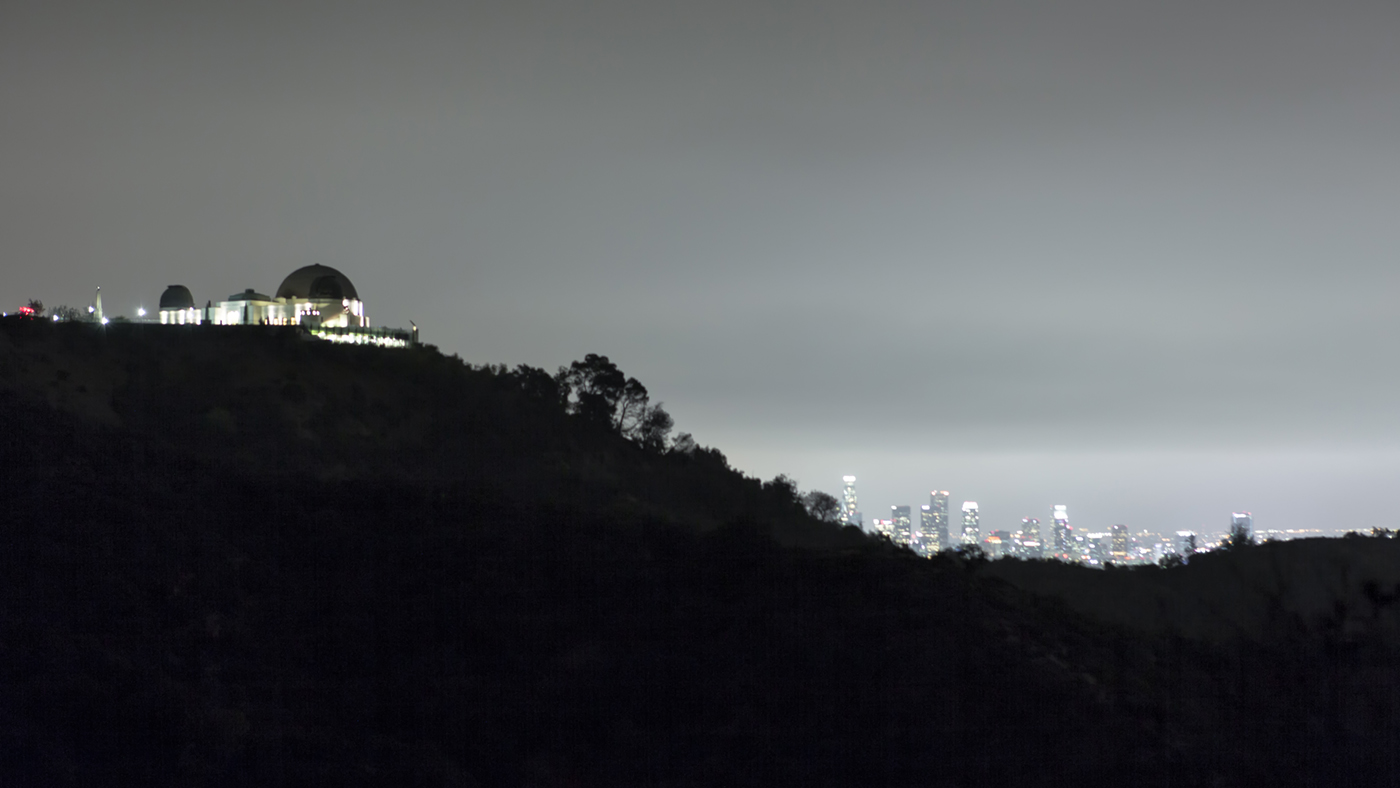 Griffith Park Observatory and Los Angles Skyline at Night.jpg
