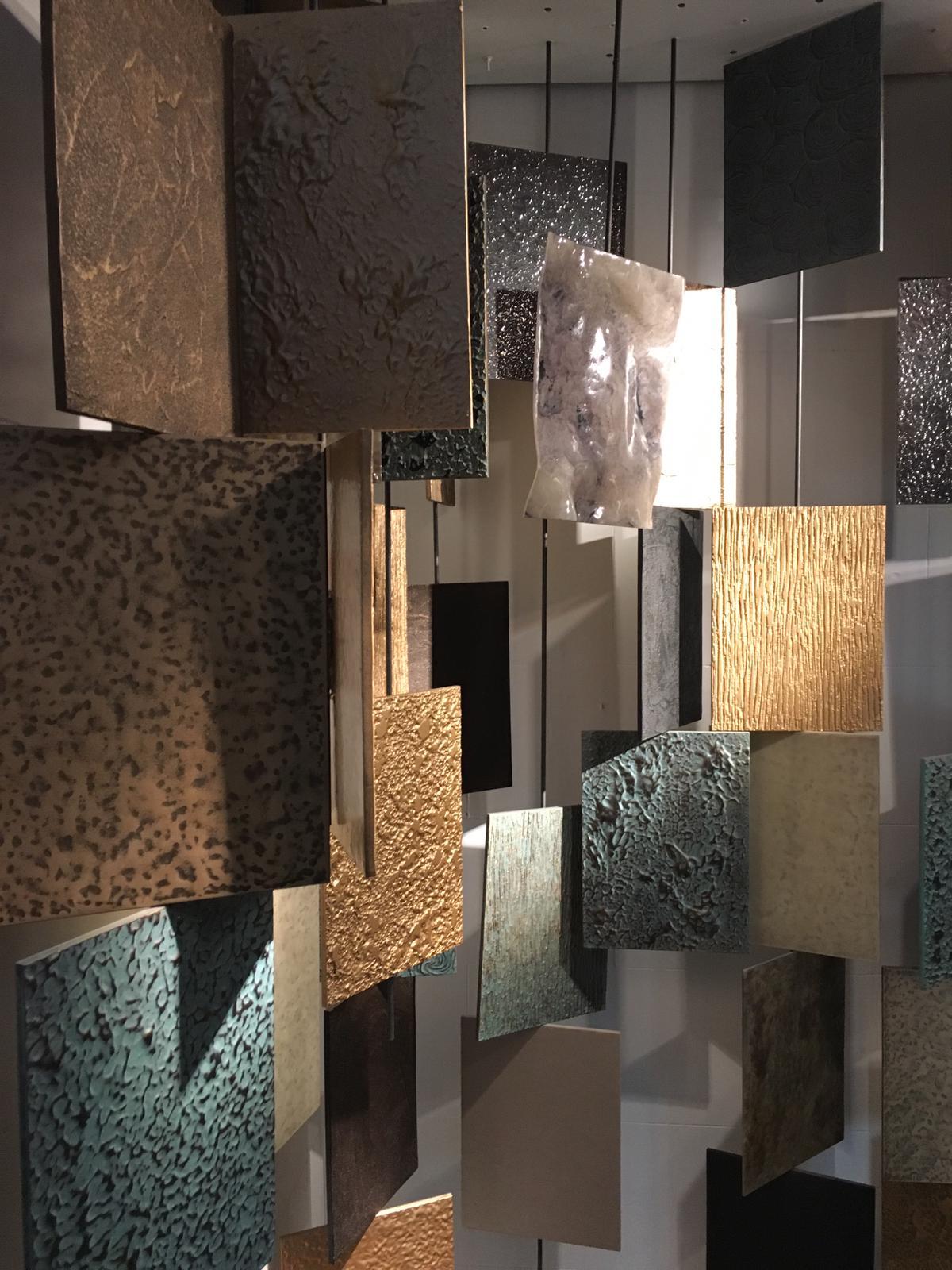 Interesantes texturas de fornica