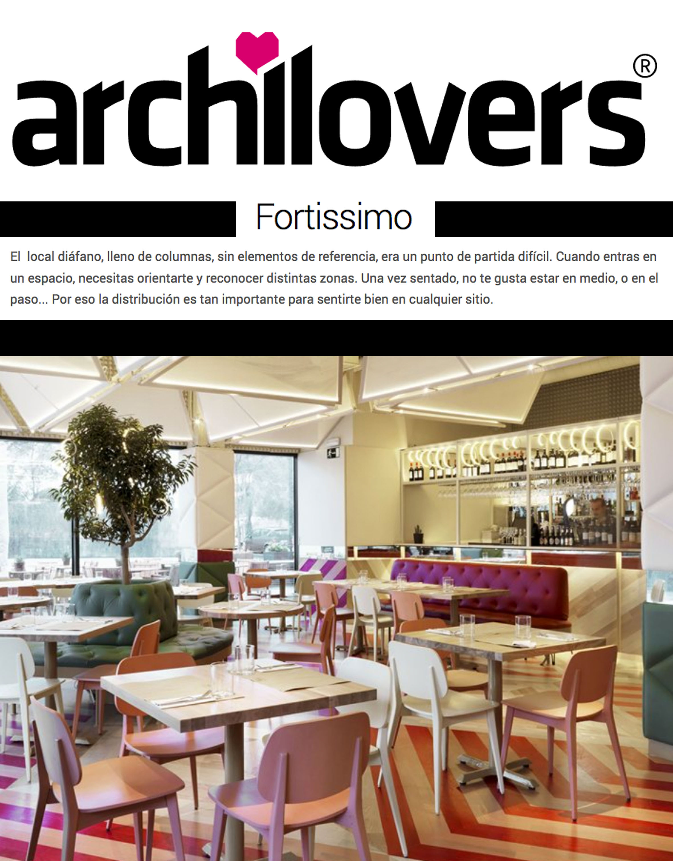 ARCHILOVERS . 2015