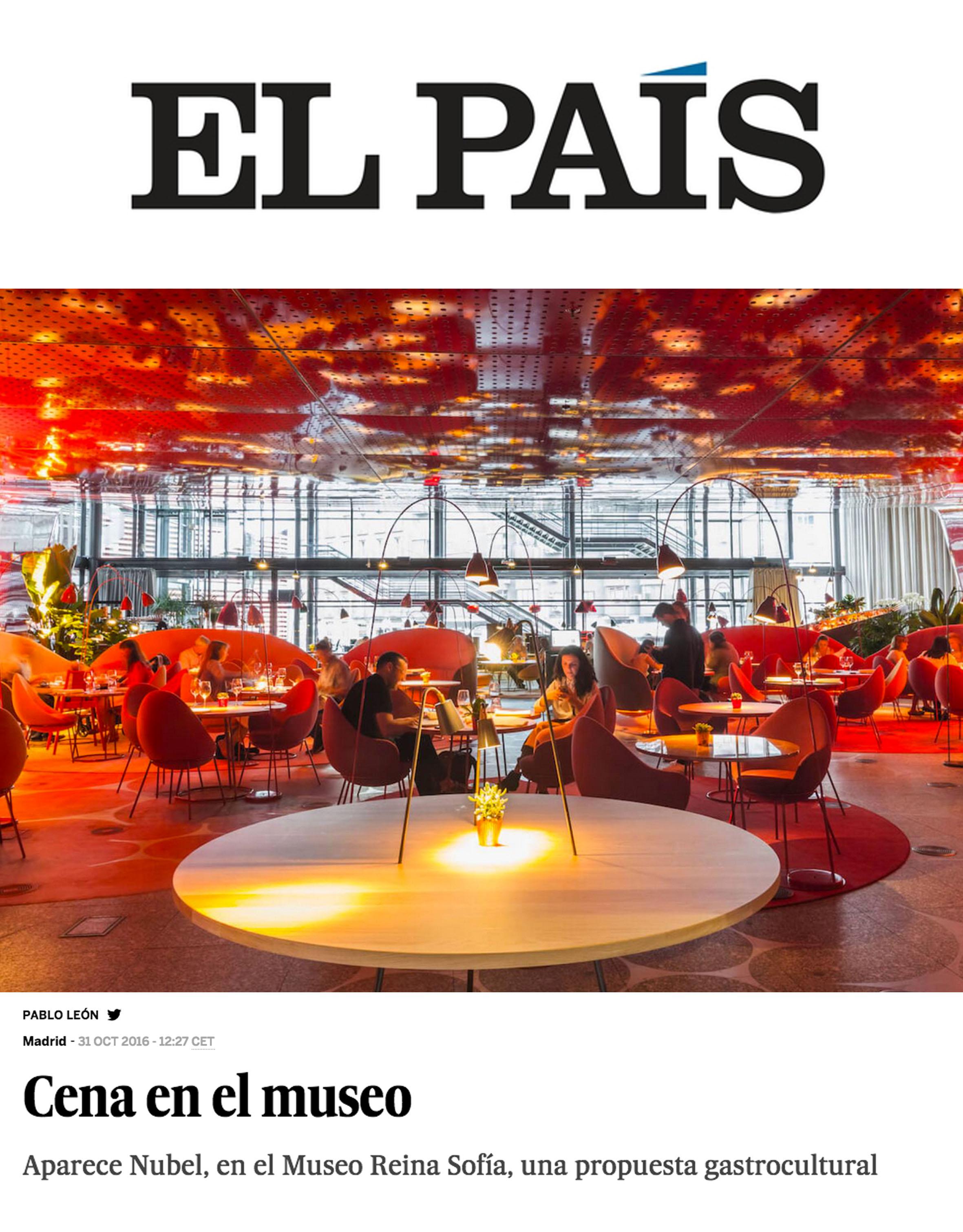 EL PAÍS. Octubre 2016