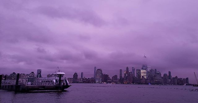 New York tonight #nofilter #nophotoshop #nolightroom just the colors that were in front of my eyes.
