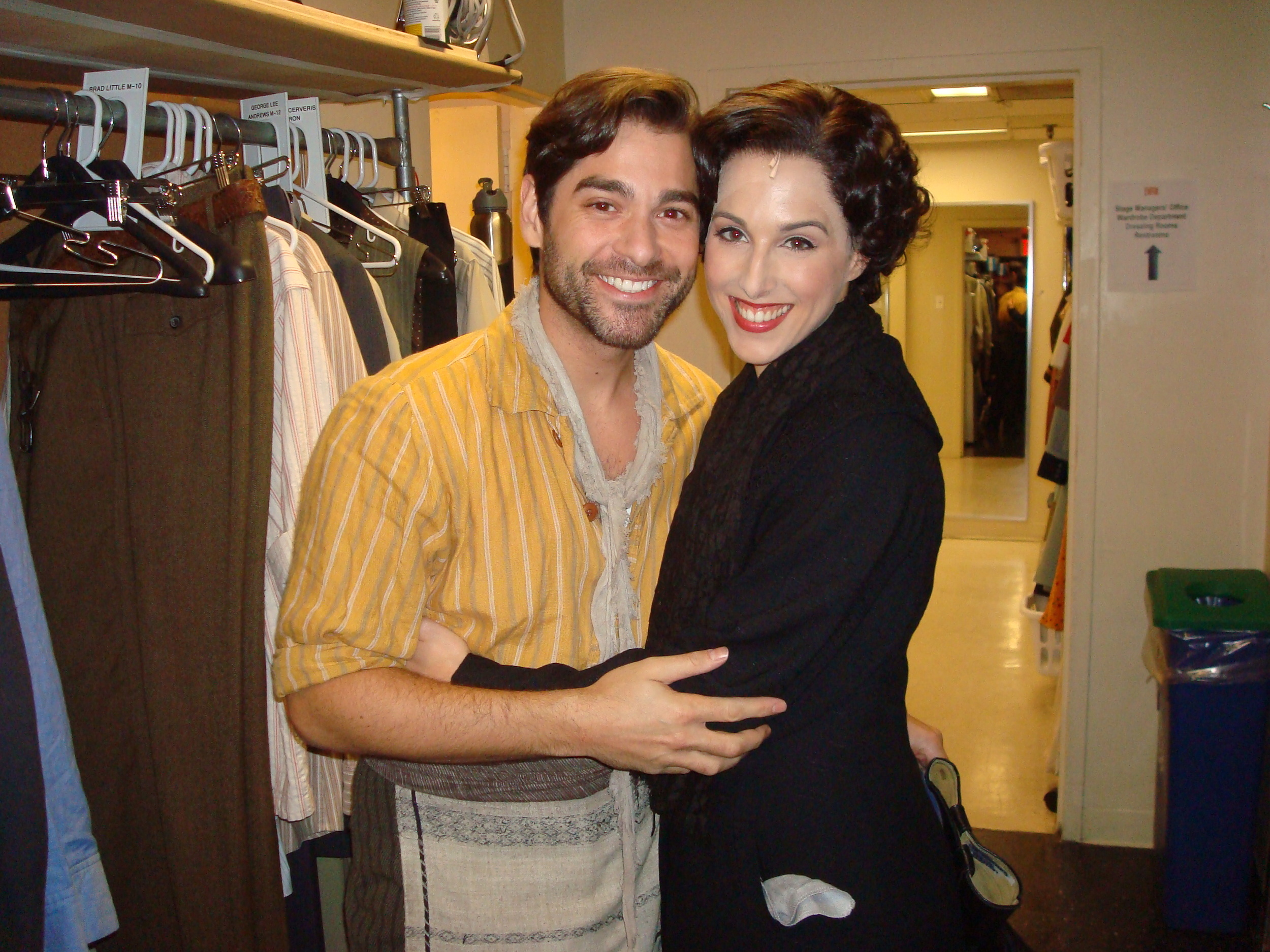 9-With fellow understudy and long time friend Daniel Torres.JPG