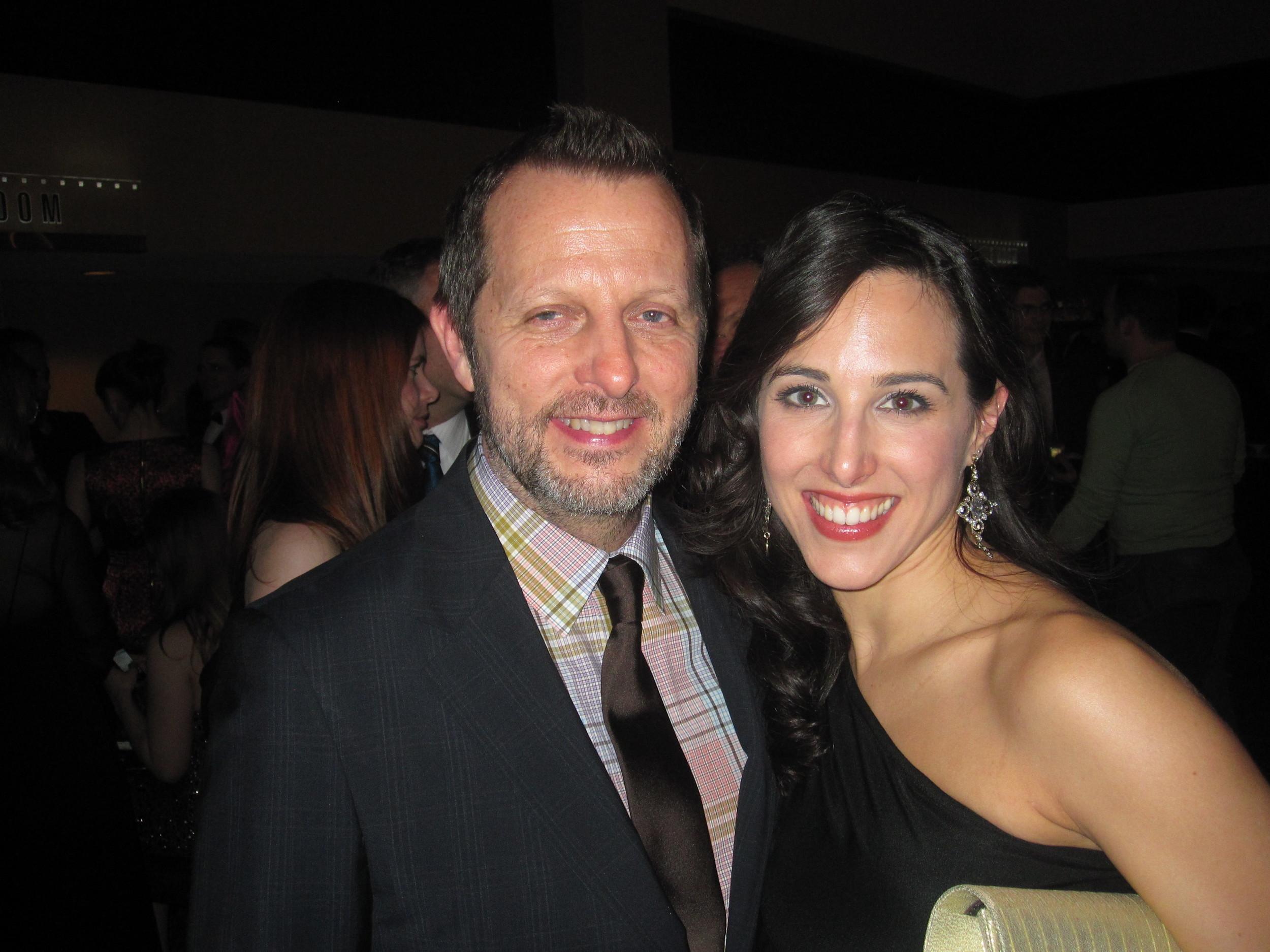 19-Opening Night w: Tony Award winning Choreographer Rob Ashford.JPG