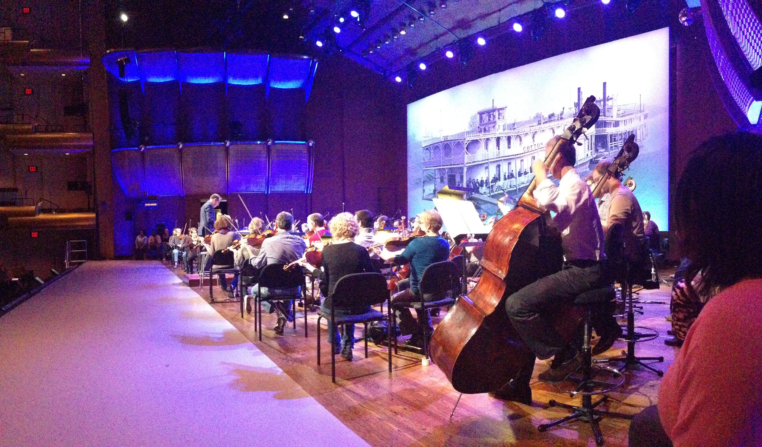 18-Tech Rehearsal w: The NY Philharmonic.JPG