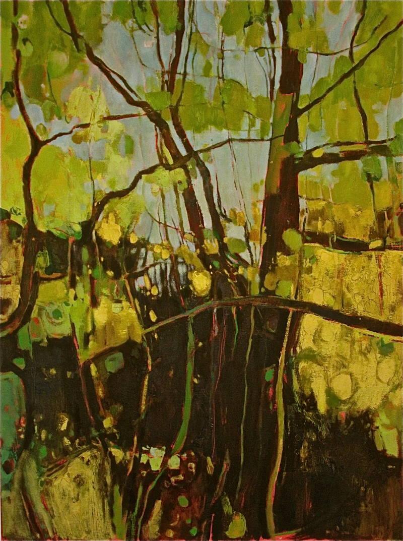 Golden Hedgerow, Lambley Lane