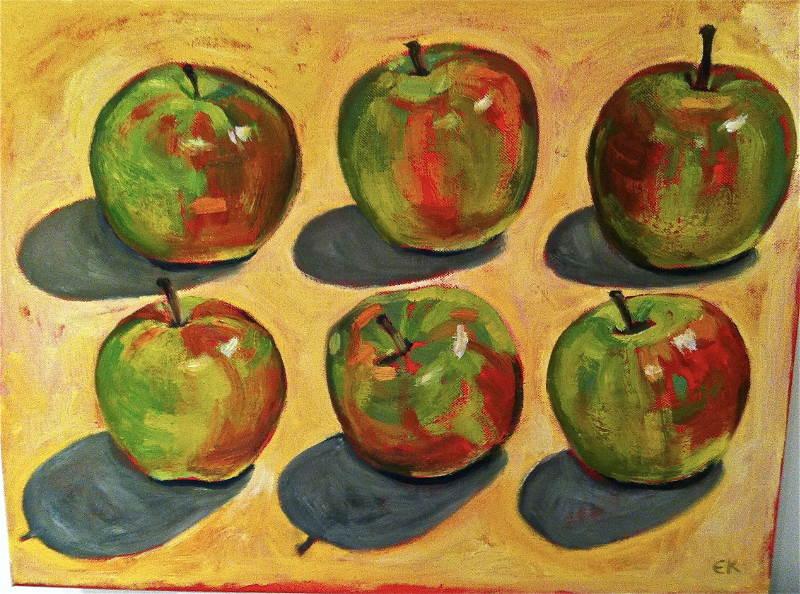 6 apples