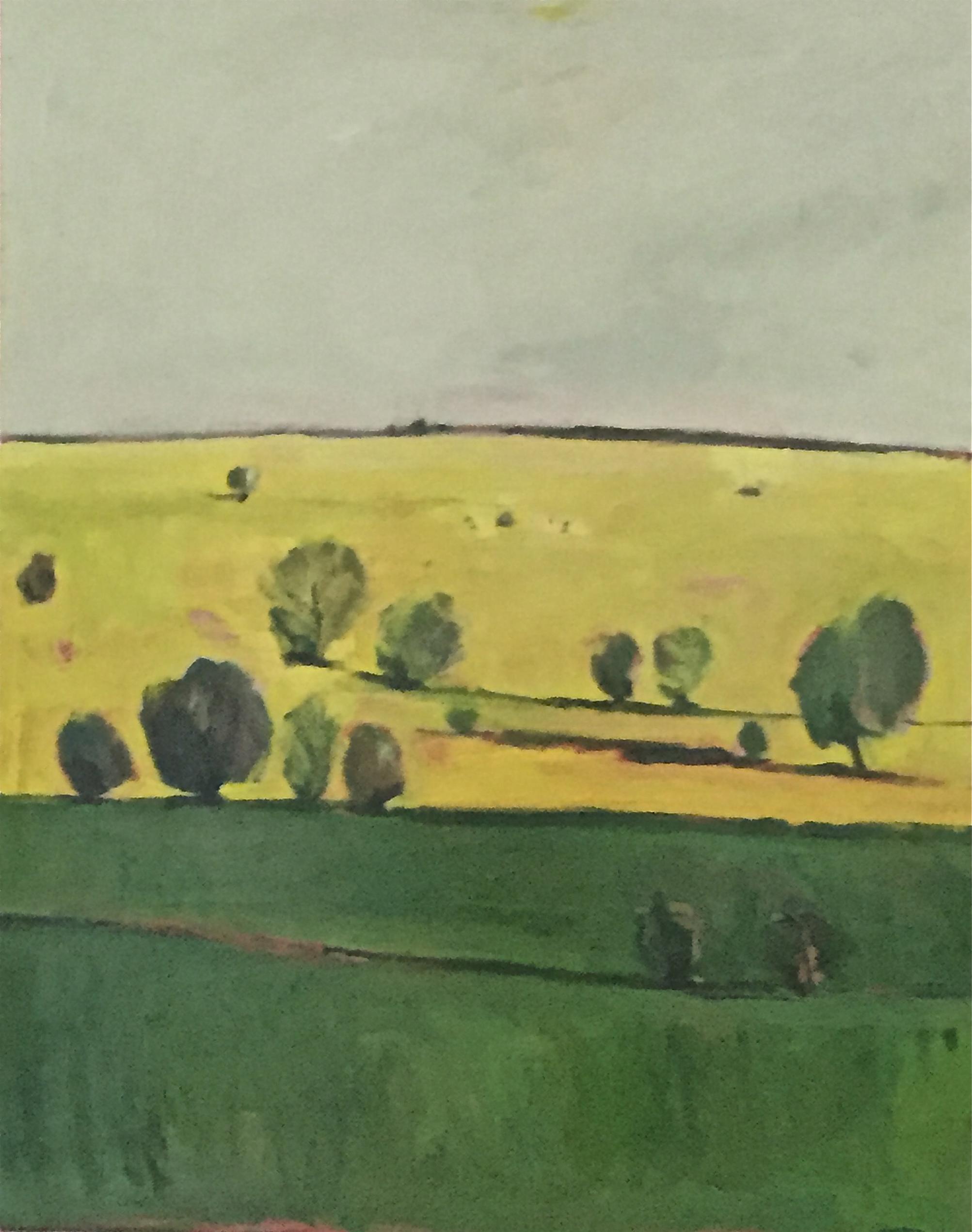 Grey, Yellow, Green II