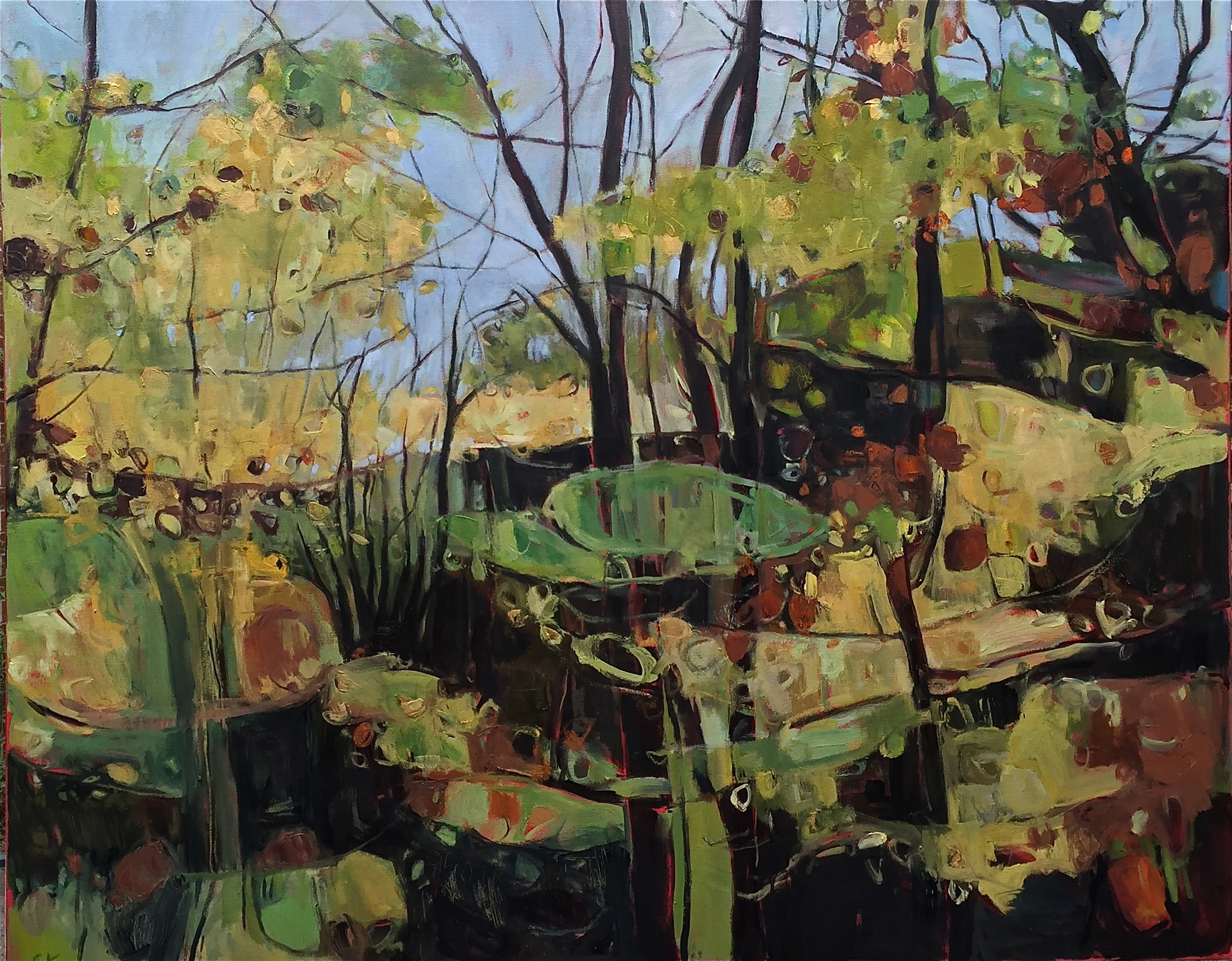 Wytham Wood, Copper and Gold