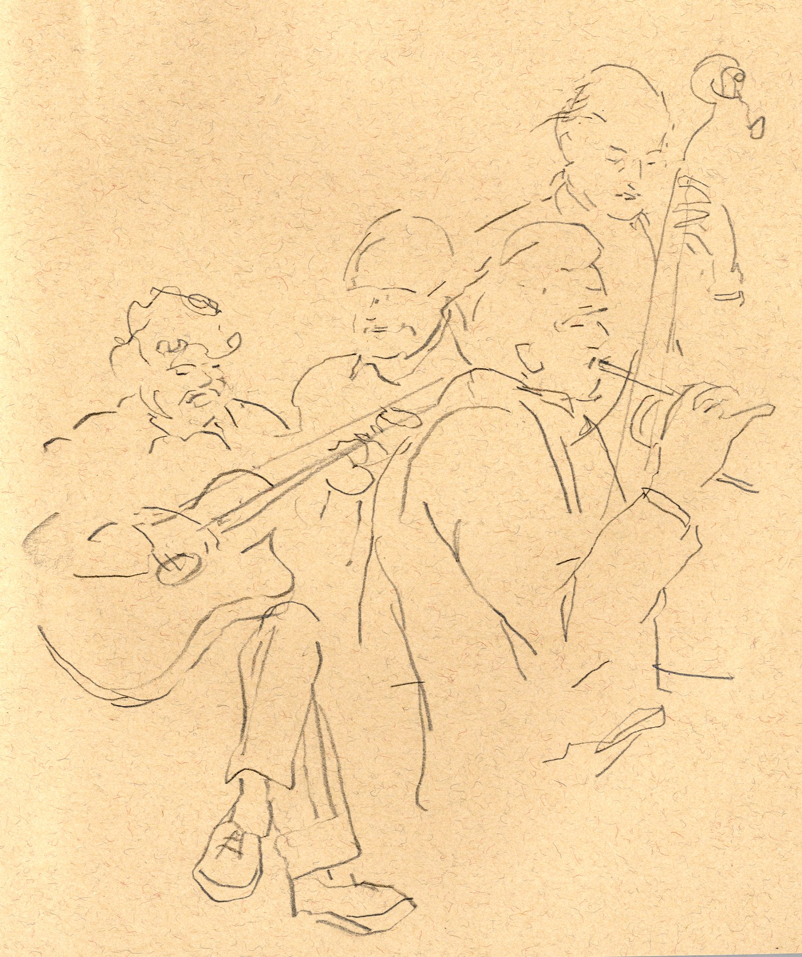 Jazz Players at the Hand and Heart II