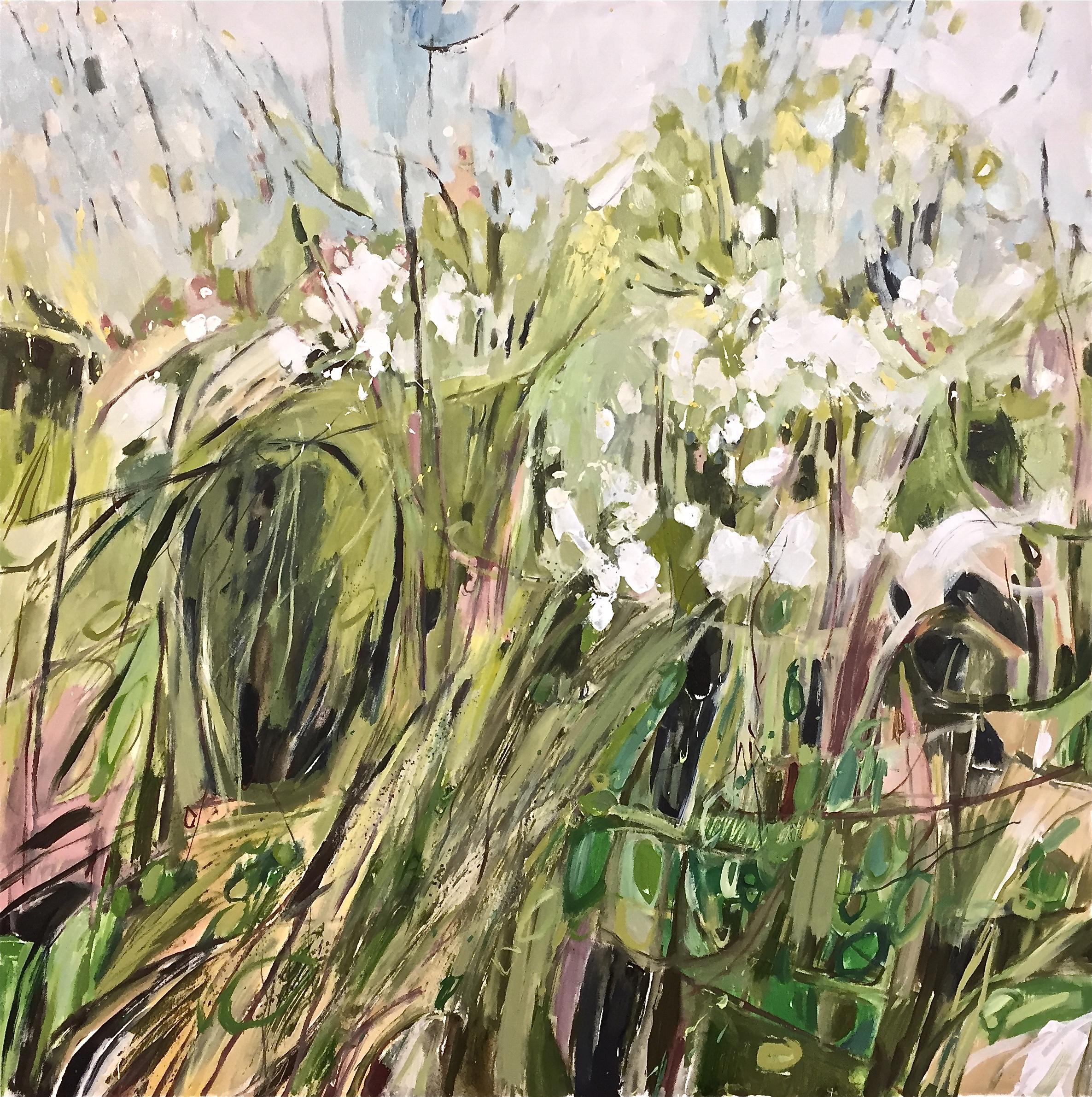 Blackthorn Hedgerow Gunthorpe, triptych 2