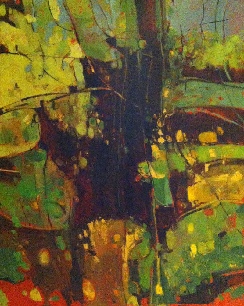 Hedgerow Lambley Lane II 2014 102 cm x 127 cm