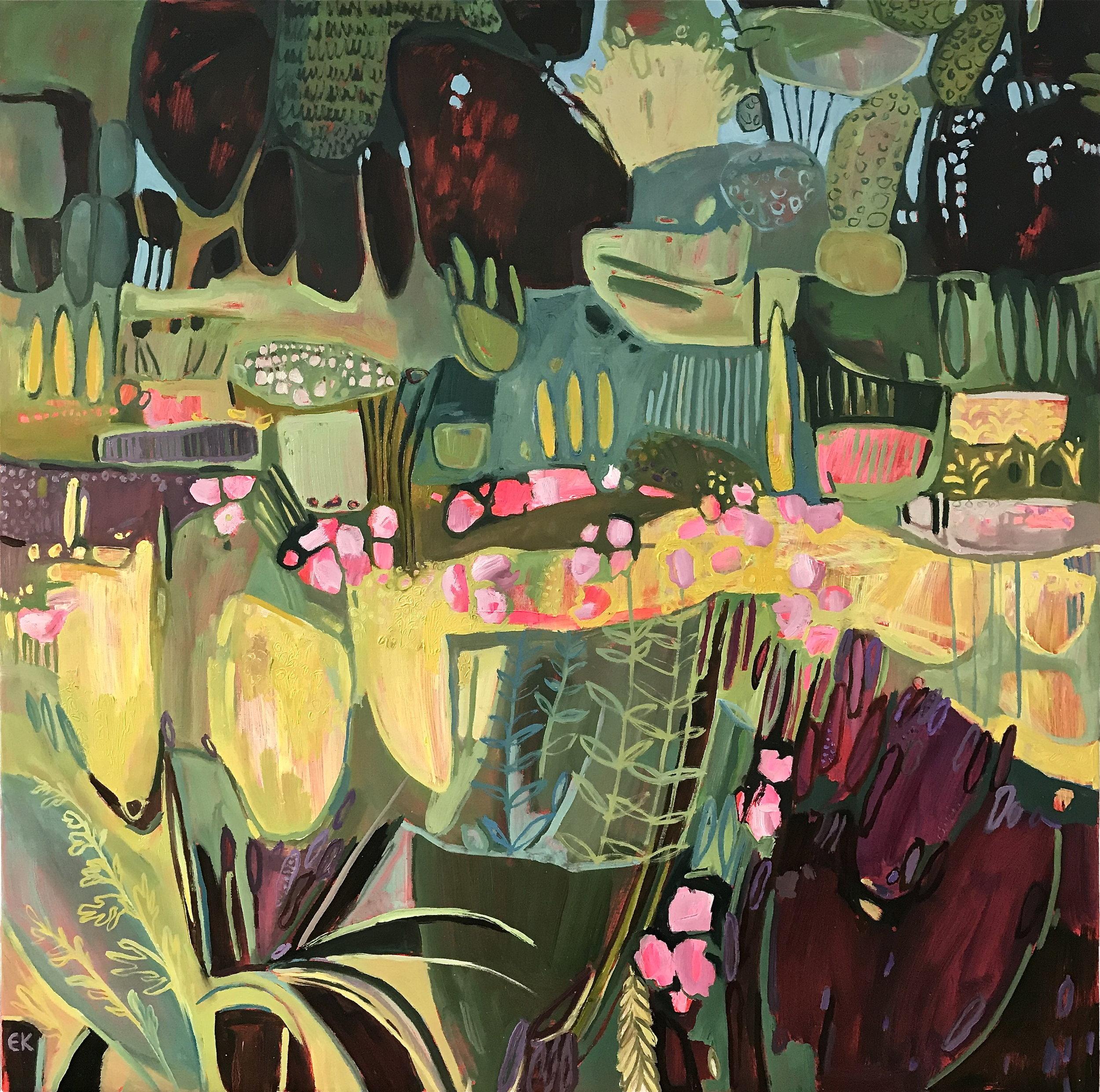 '100 days of June' (Oxford Botanic Gardens)