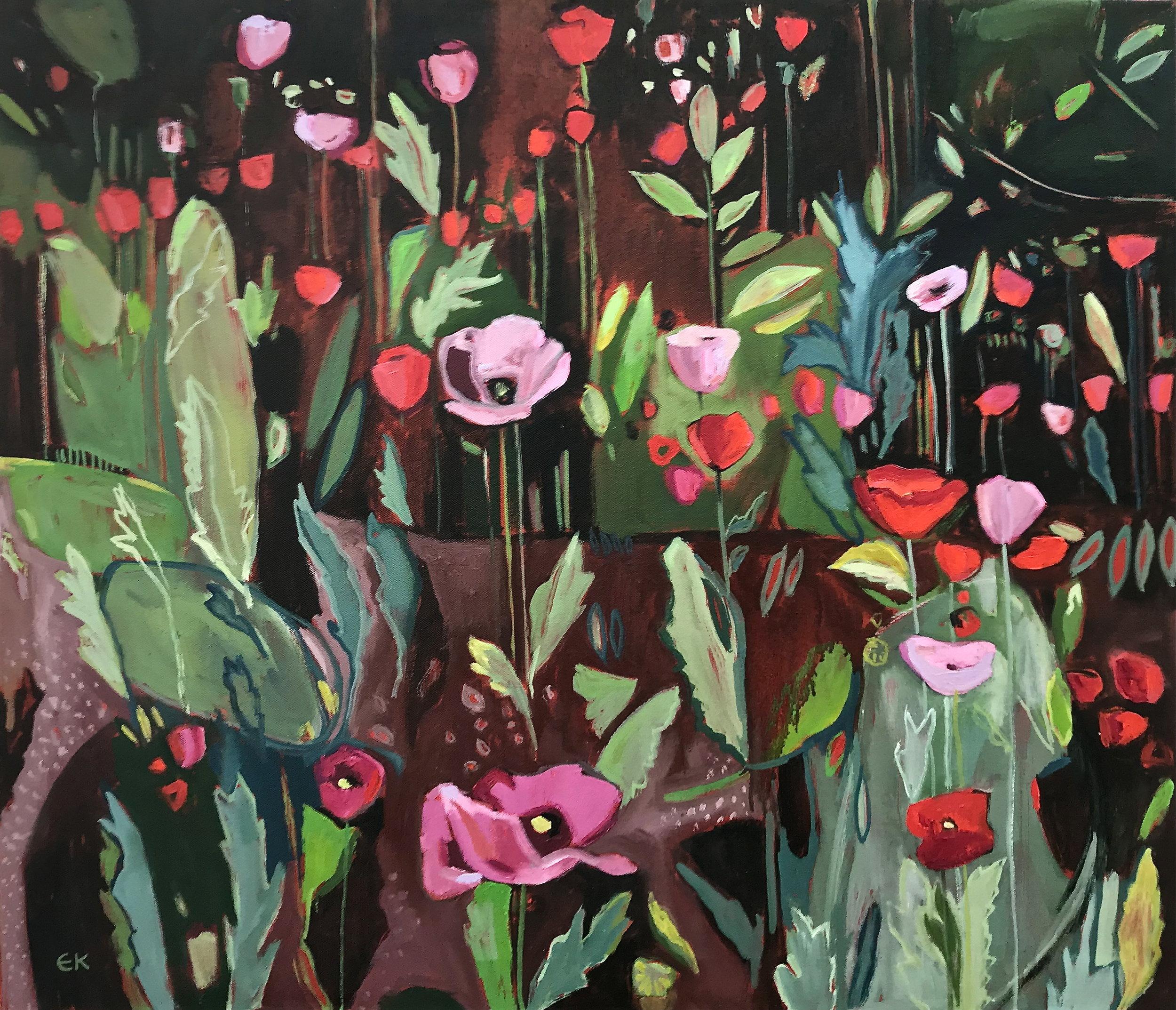 Opium Poppies Again (Oxford Botanic Garden)
