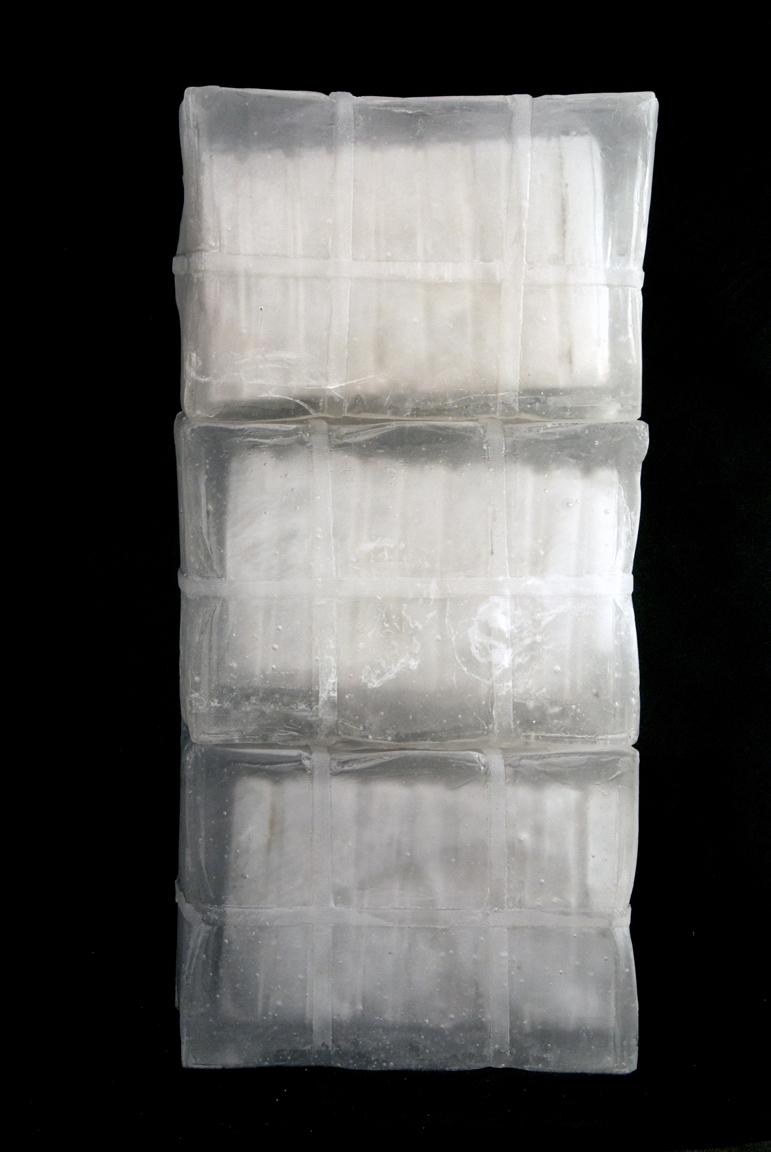 """SHIPMENT FROM LACHEZAR Cast glass  26 x 12 x 9"""""""