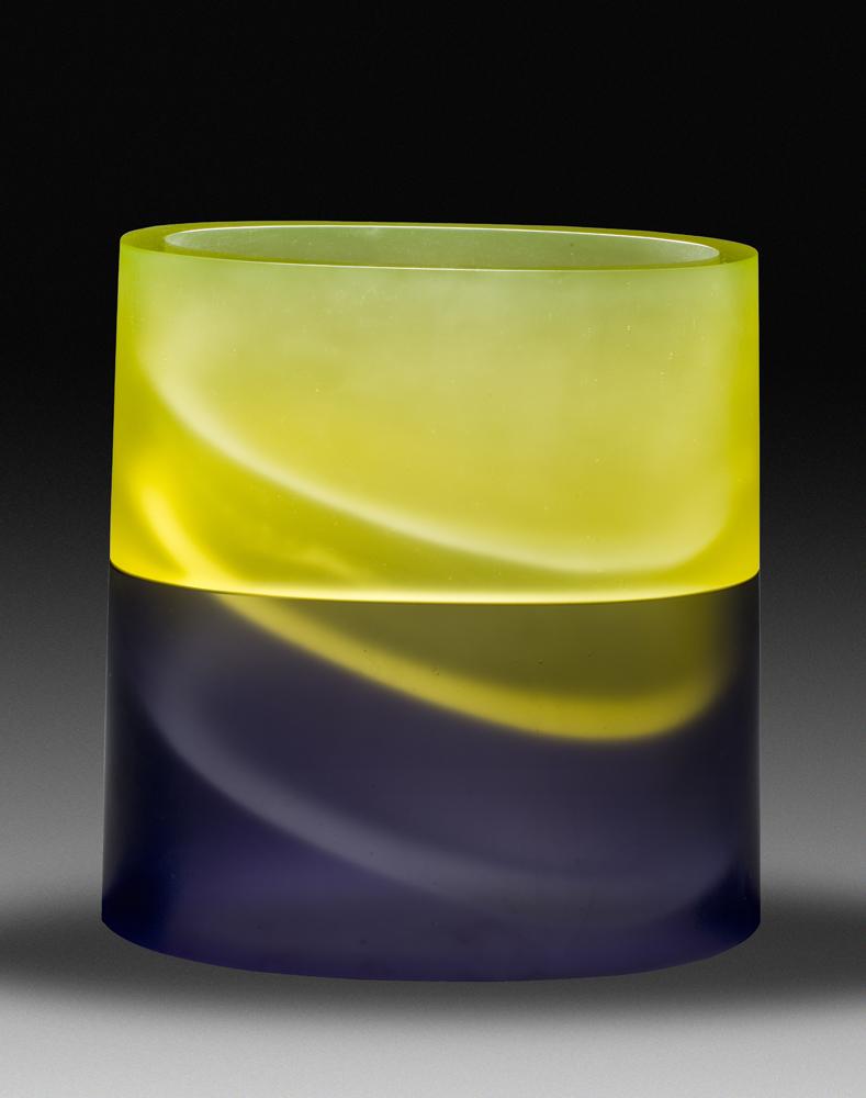 "ARISE Cast glass  17 x 15 x 7.5"""