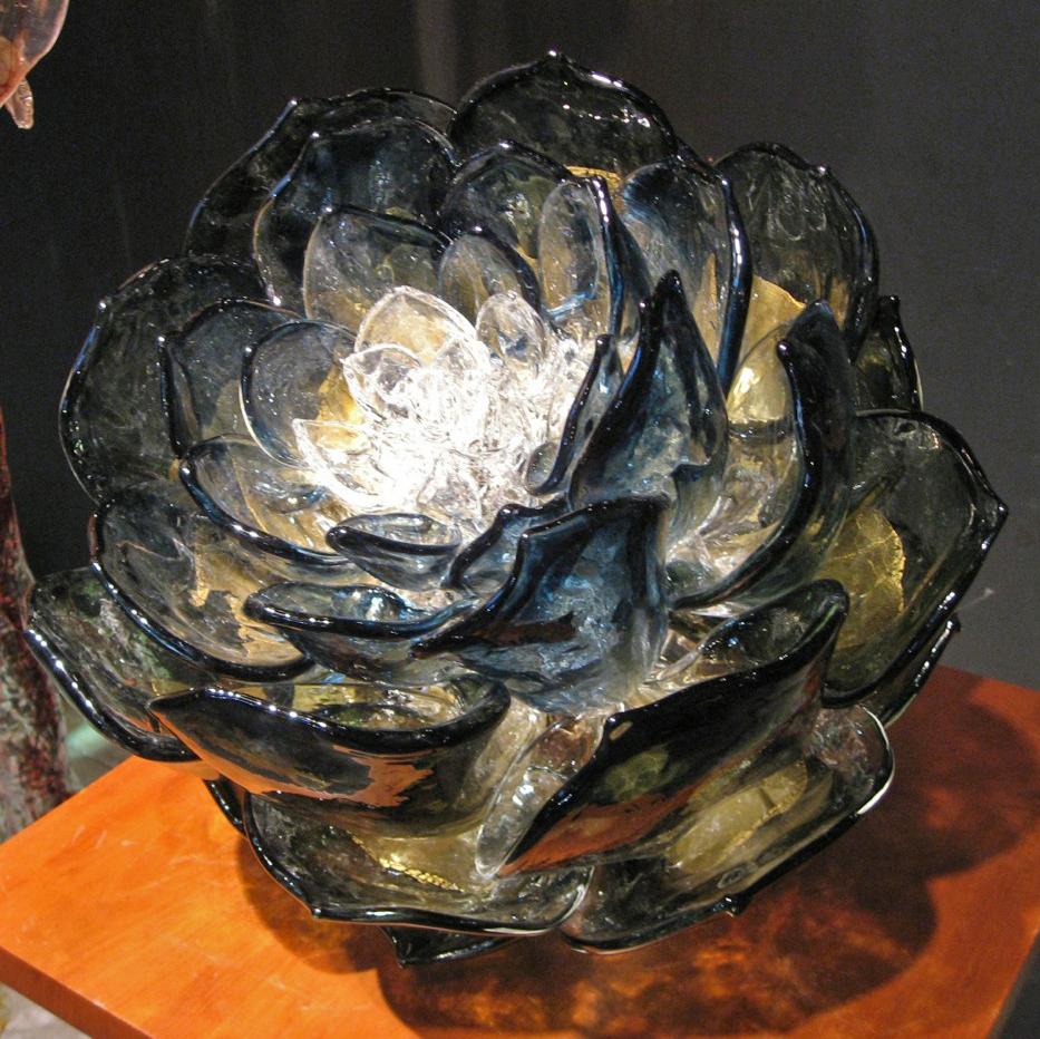 Steel Blue Lotus