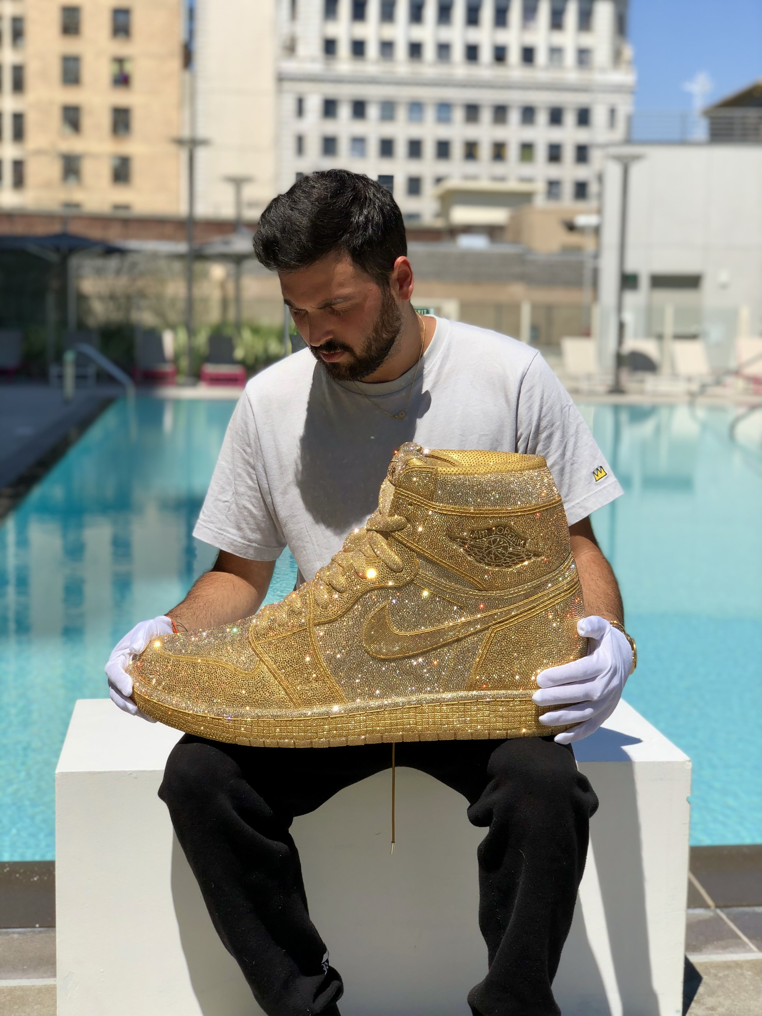Gold Air Jordan, Edition of 3