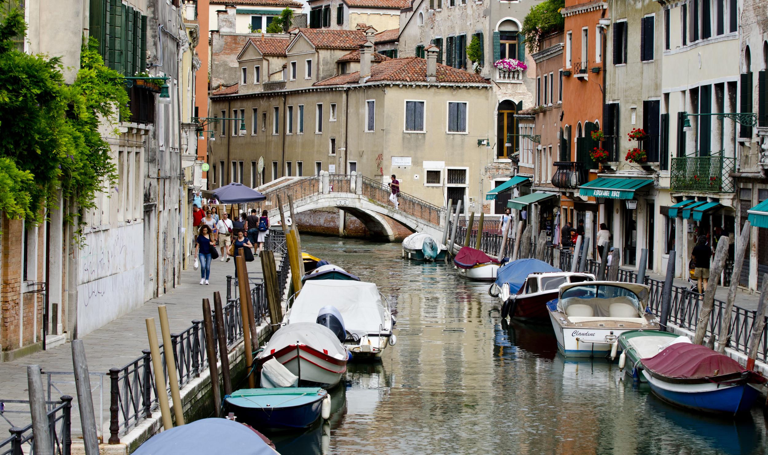 Venice, Italy - June 2014.