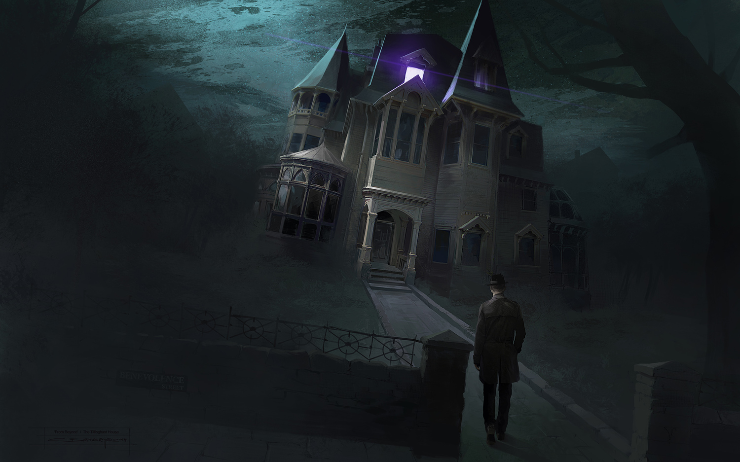 From Beyond concept art