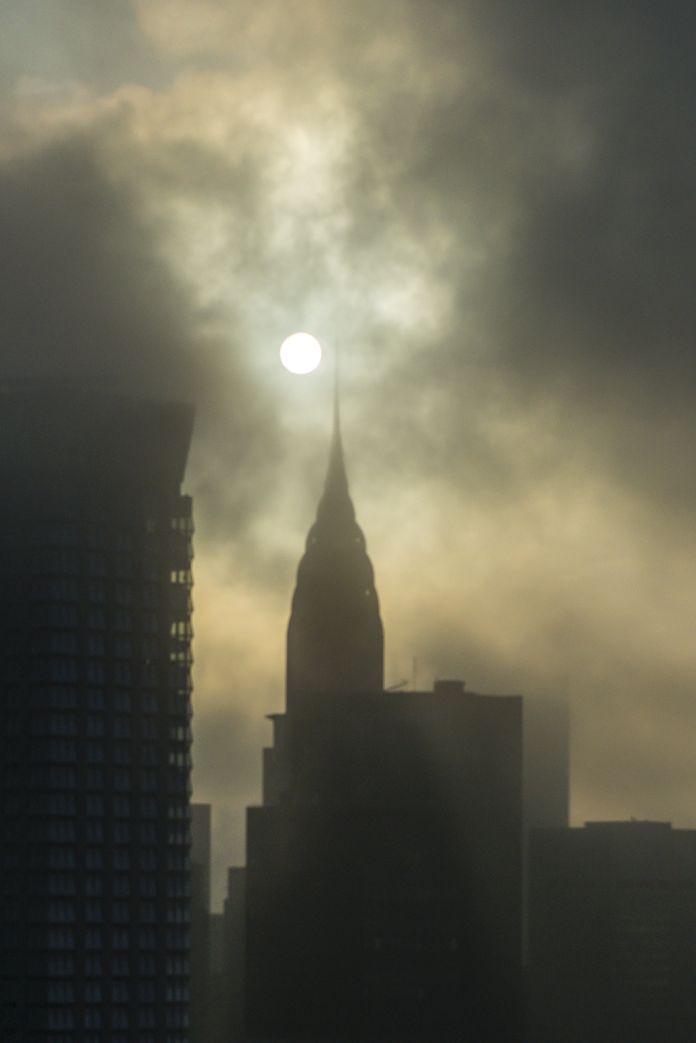 Chrysler Building in Cloud
