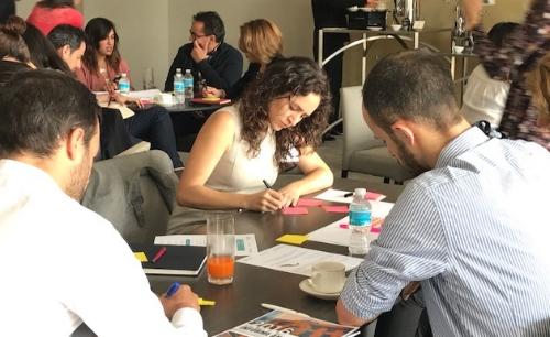 Identificación de retos con 50 expertos de todos los sectores