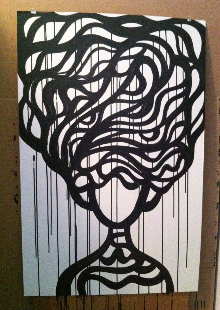 4 ink on paper 26x40