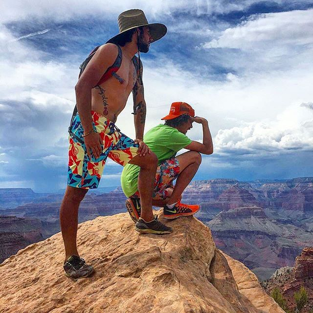 Ever heard of the Grand Canyon? Well, one day we looked at it and decided to hike Rim to Rim to Rim. 48 miles in 16 and 1/2 hours. Yeah, we are Ninjas!
