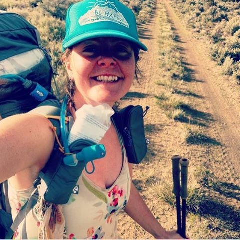 Looks like @anishhikes is having a blast out on the Oregon Desert Trail! You should definitely check her out, she's a total bad ass and hardcore human.  And had some great stories to share. Happy Trails Anish.