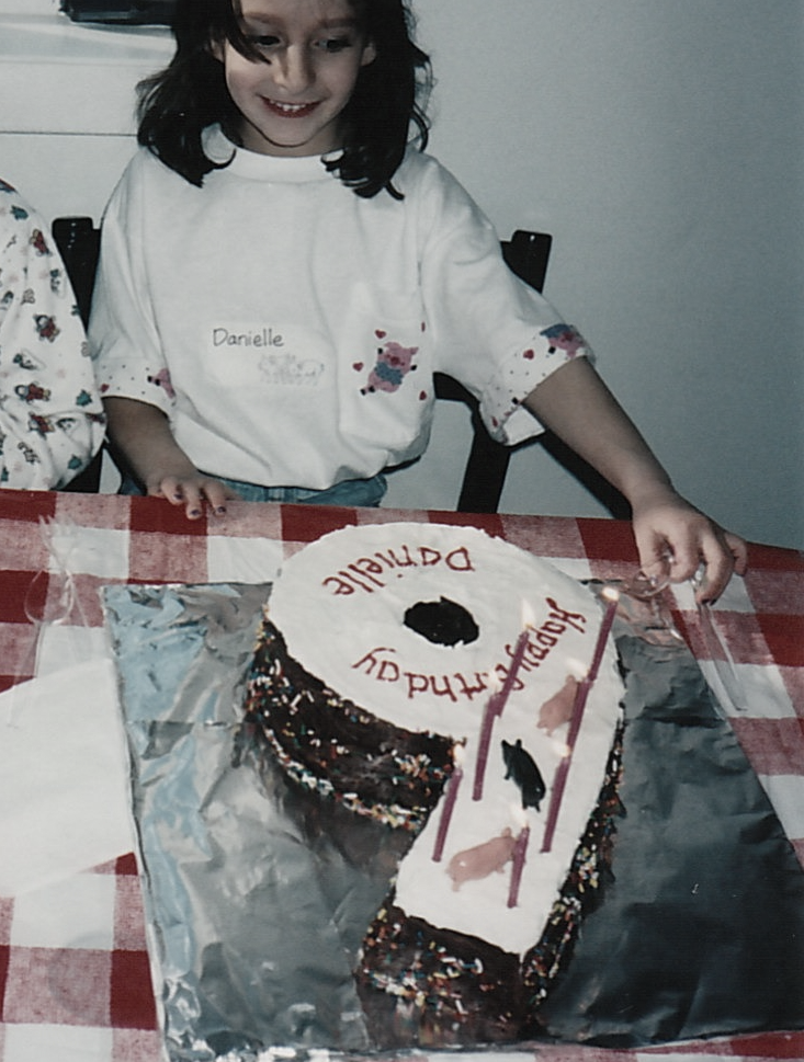 Although Susan has been baking delicious cakes for as long as she can remember, her decorating skills have improved since she made this for her daughter's 6th birthday in 1997!