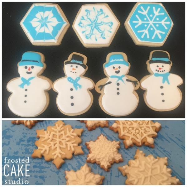 FCS Snow flakes and snowmen cookies.jpg