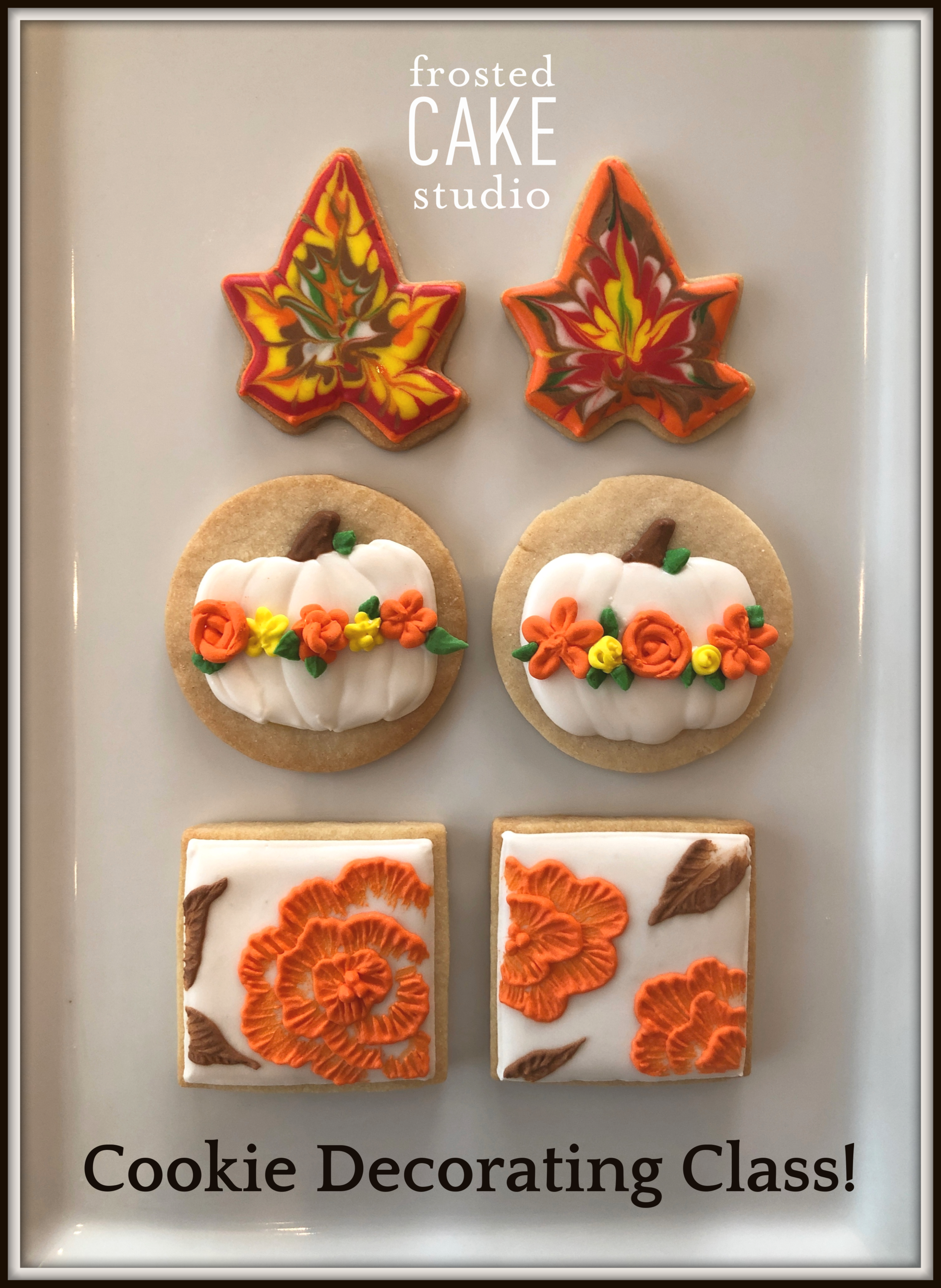 FCS Fall Cookie Decorating Class