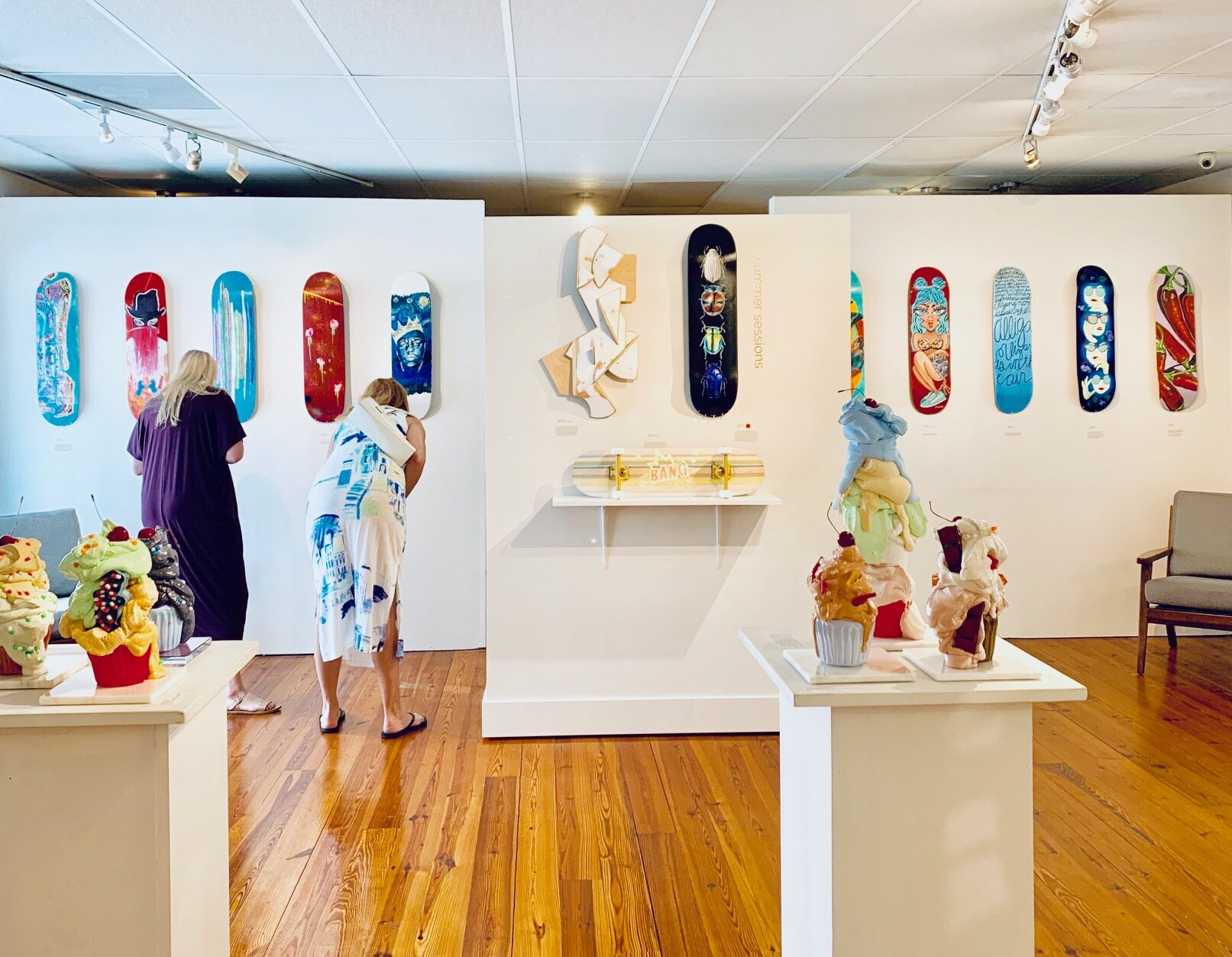 "Opening reception for ""Summer Sessions"" at the Miller Gallery    Charleston, SC    August 24th, 2019"