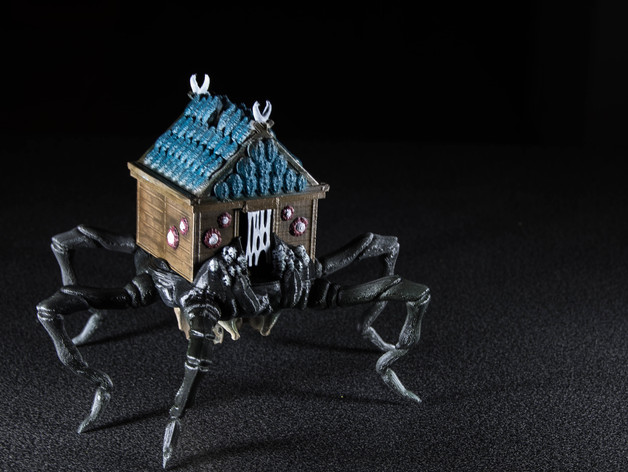 House Spider  , printed and painted by  Ali Alweqaiyan