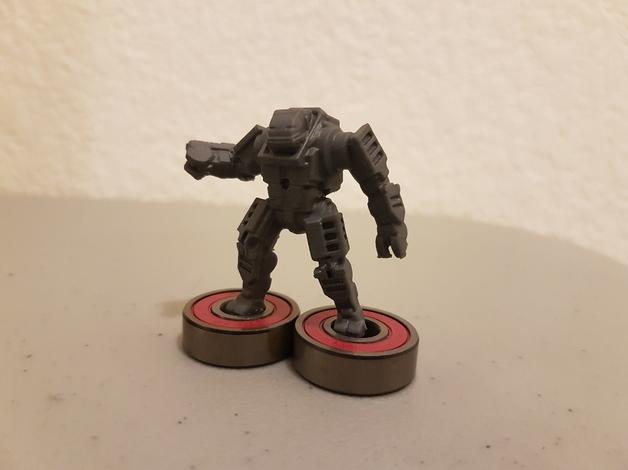 Robotic Soldier  , printed by  John Bishop