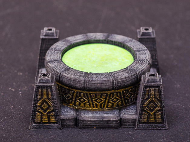 Scrying Pool  , printed and painted by  Jennifer G