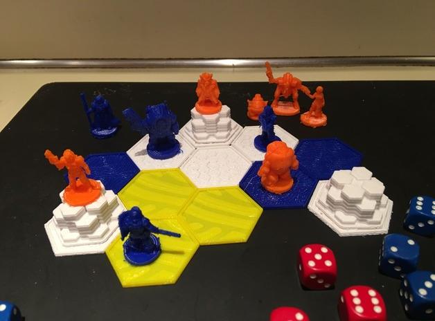 Pocket-Tactics Core Set 3  , printed by  Jeremy Larsen