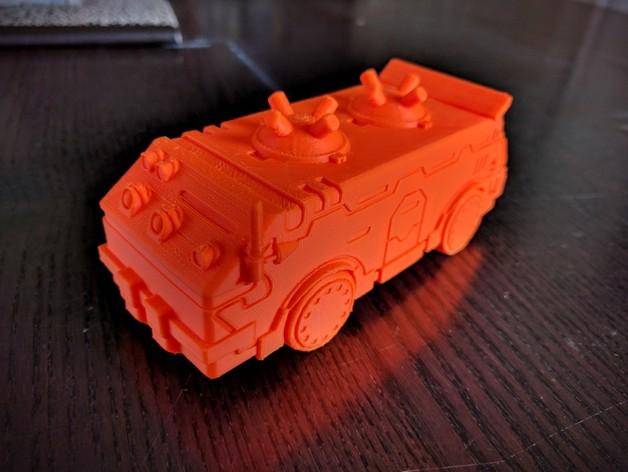 Dozer Shuttle  , printed by  Rocketship Games
