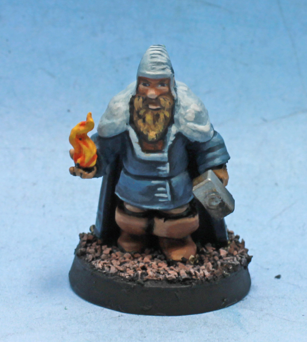 Dwarf Sorcerer  , printed and painted by  superbug983