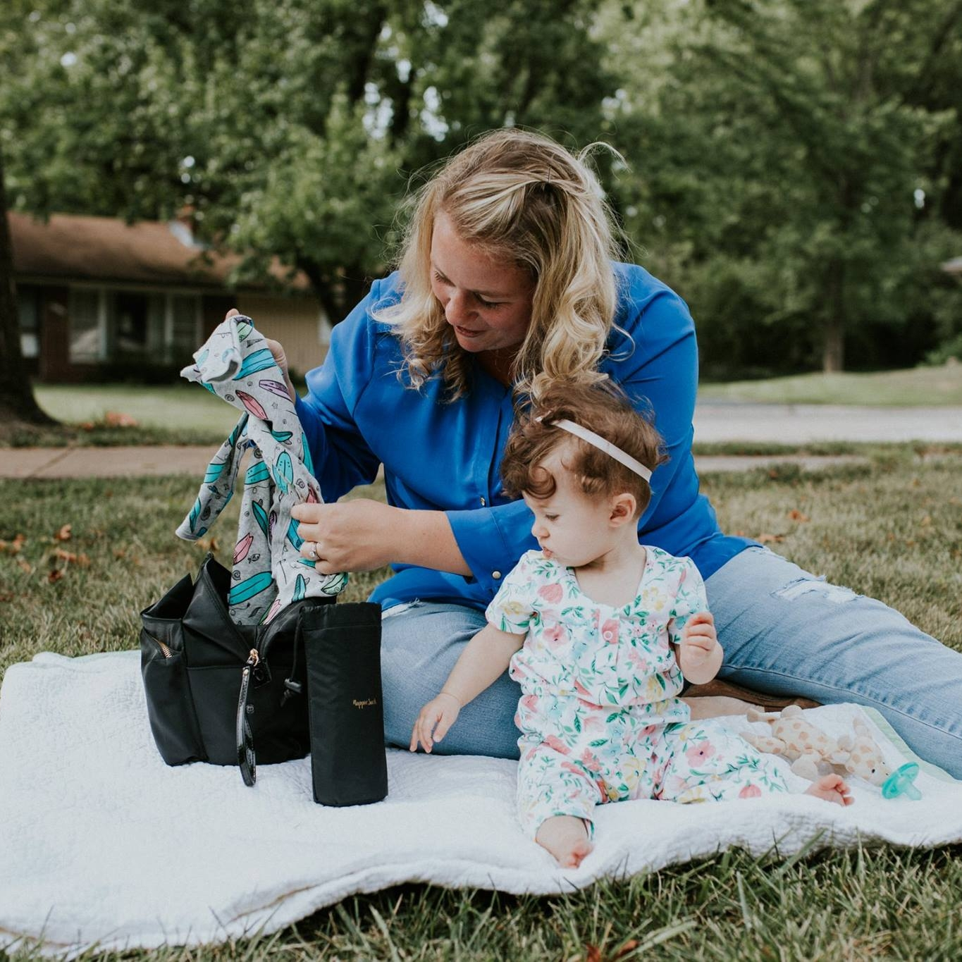 NappieSack - Turn any bag into a diaper bag!