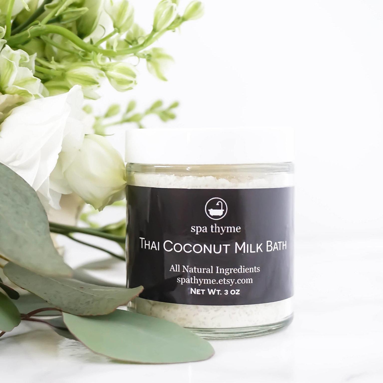 Thai Coconut Milk Bath - Spa Thyme