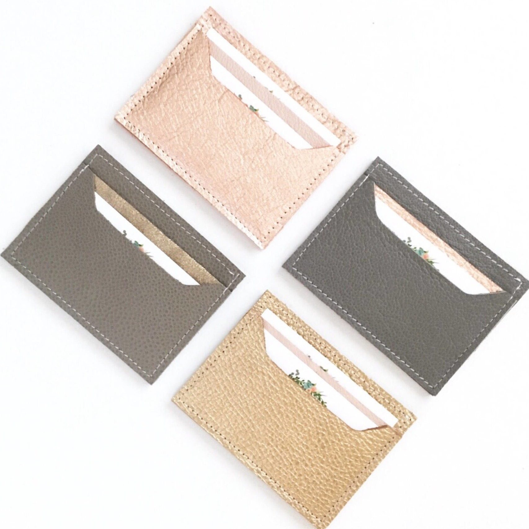 Leather Card Case - Baby Mama Sew Shop